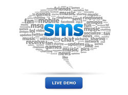 Incoming SMS live demo