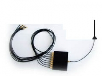 GSM combiner (splitter) 8-to-1 with regular antenna