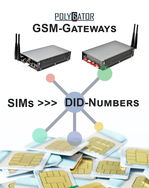 DID-numbers creation by means of GSM-gateway